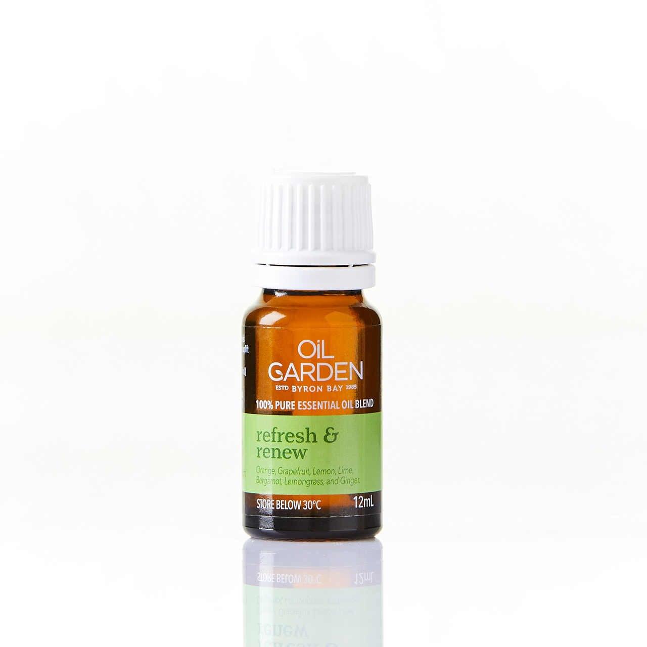 Oil Garden Refresh & Renew Essential Oil Blend 12mL 6620001