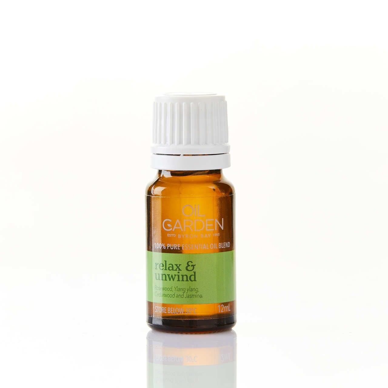 Oil Garden Relax & Unwind Essential Oil Blend 12mL 6620002