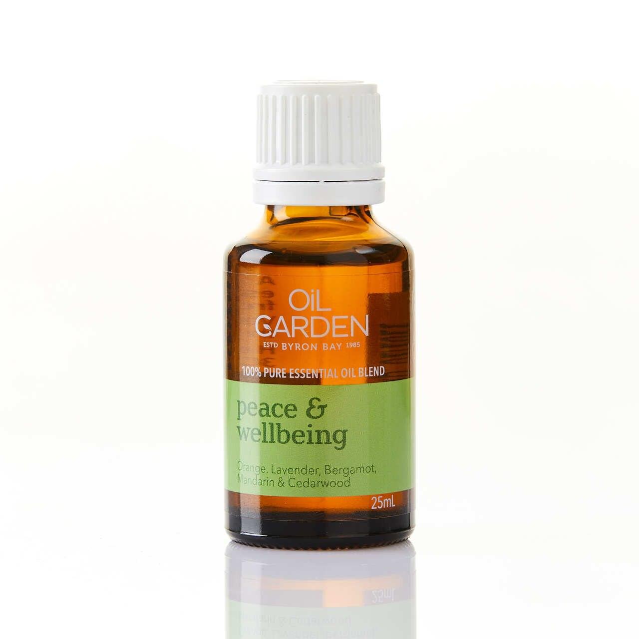 Oil Garden Peace & Wellbeing Essential Oil Blend 25mL 6620009