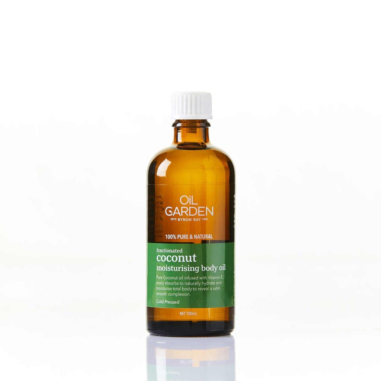 Oil Garden Fractionated Coconut Moisturising Body Oil 100mL 6670111