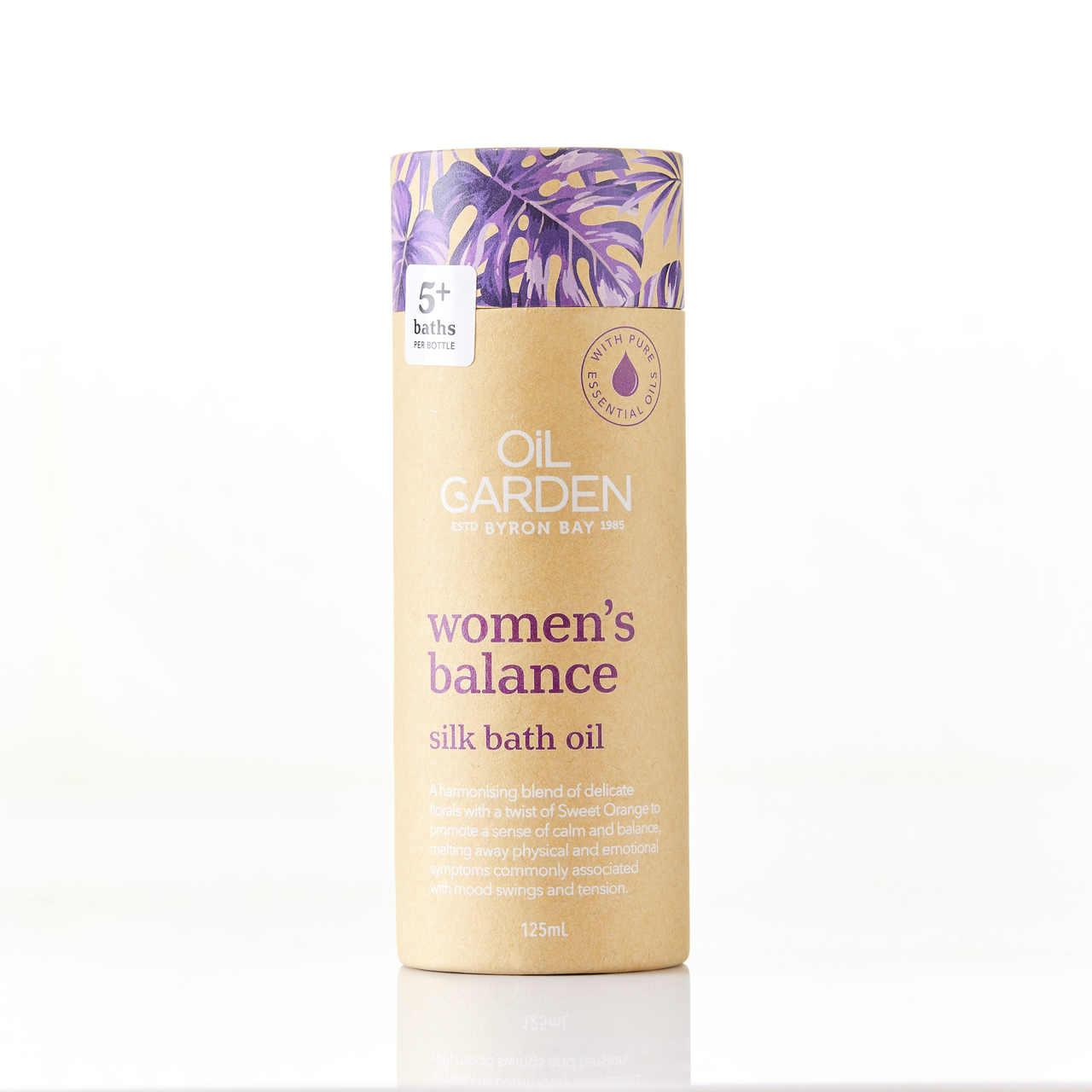 Oil Garden Women's Balance Silk Bath Oil 125mL 6670114
