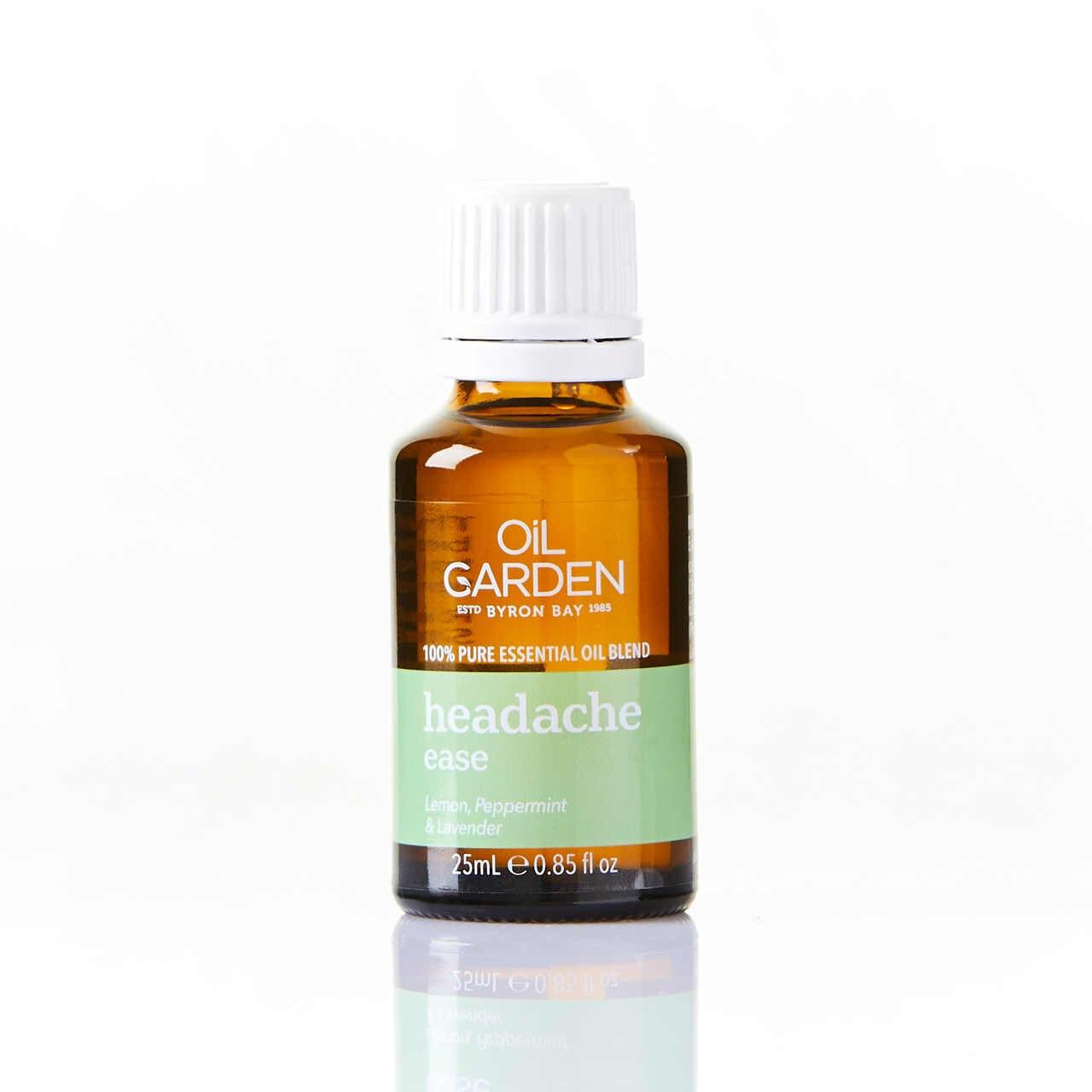 Oil Garden Headache Ease Essential Oil Blend 25mL 6691344