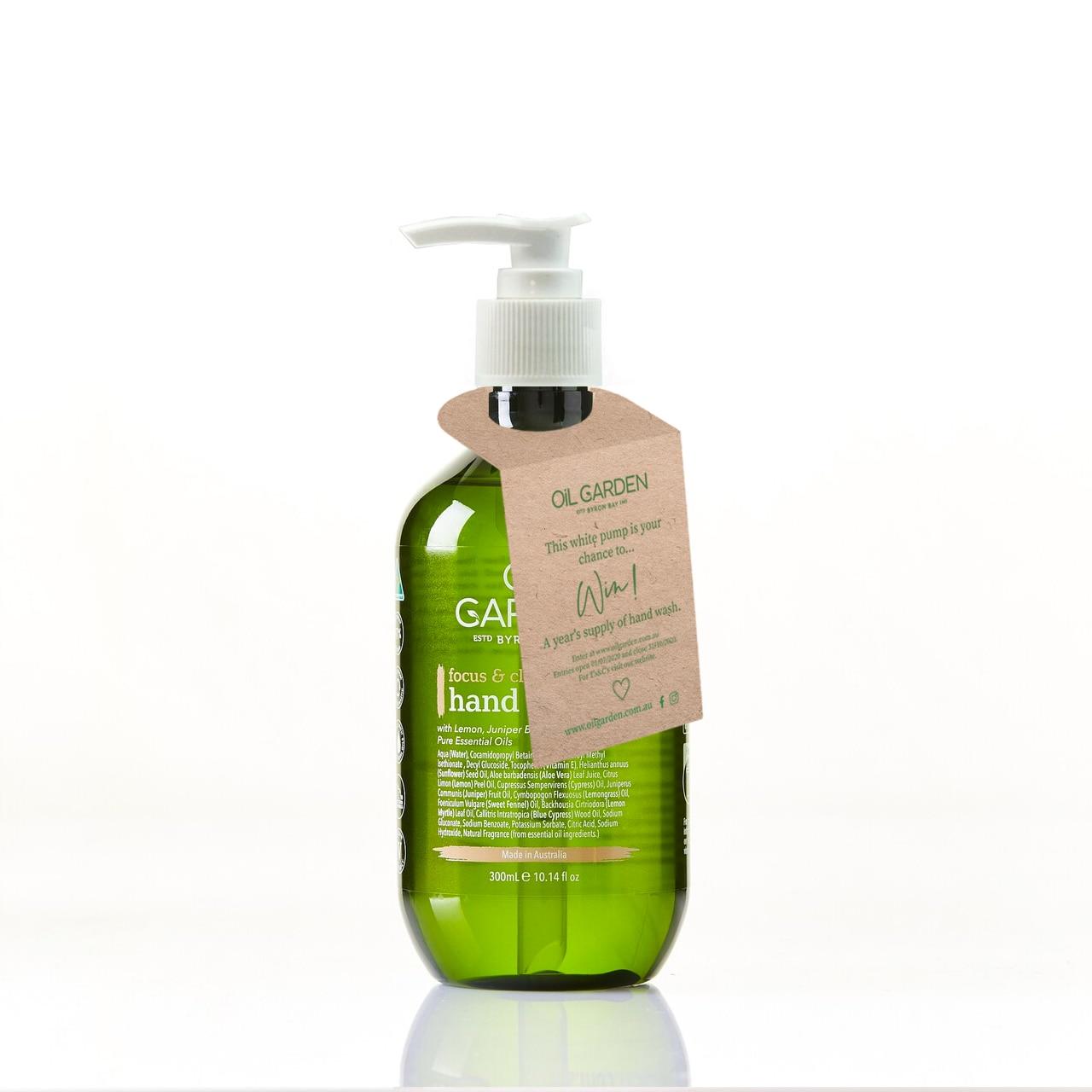Oil Garden Hand Wash Focus & Clarity 300mL  6691477