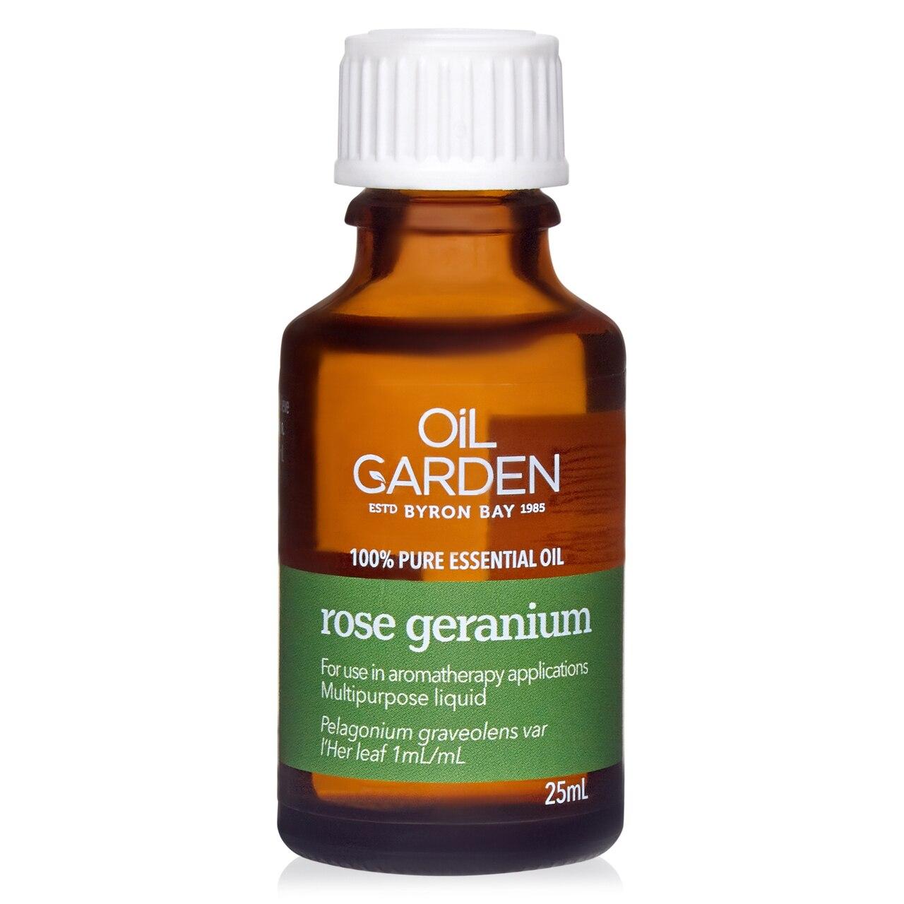 Oil Garden Rose Geranium Pure Essential Oil 25mL 6620079
